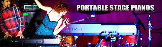 Banner Portable Stage Pianos