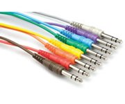 HOSA TRS Patch Cables